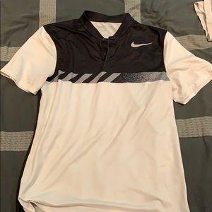 Nike Collarless Golf Shirt
